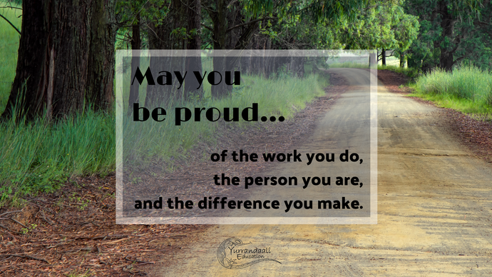 May you be proud - Desktop Wallpaper