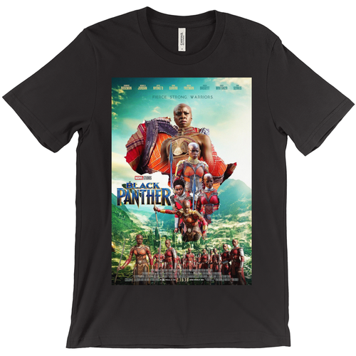 Dora Milaje Movie Poster T-Shirts - Njadaka