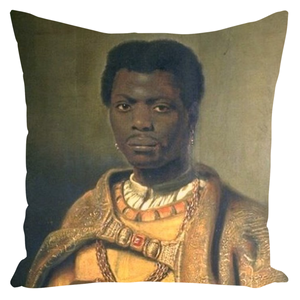 The Moorish King Caspar Netherlands (1654) - Throw Pillows - Njadaka
