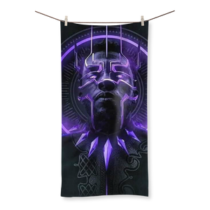 King T'Challa Collection Sublimation All Over Towel - Njadaka