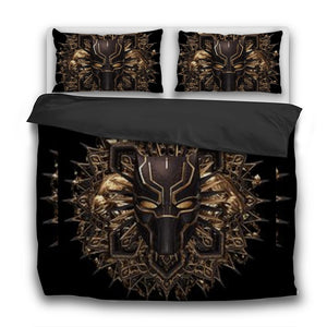 Killmonger 3 Pcs Bedding Sets - Njadaka