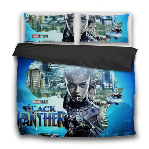 Princess Shuri 3 Pcs Bedding Sets - Njadaka
