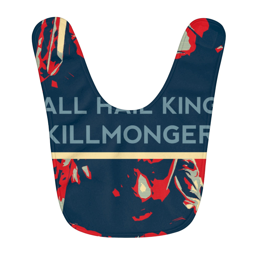 King Killmonger Fleece Baby Bib - Njadaka