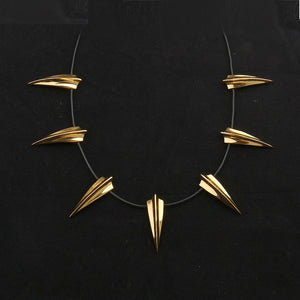 Killmonger Gold Necklace - Jewelry - Njadaka