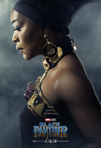 Queen Mother Ramonda of Wakanda Black Panther Poster