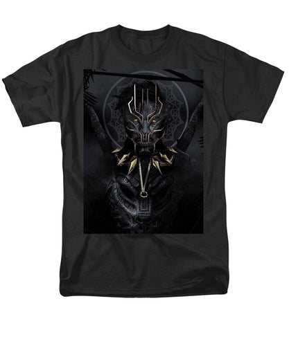 A Portrait Of King N'jadaka - Men's T-Shirt  (Regular Fit) - Njadaka