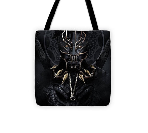 A Portrait Of King N'jadaka - Tote Bag - Njadaka
