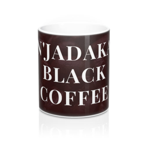 N'Jadaka Black Coffee Cup - Njadaka