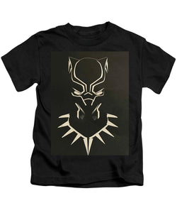 Black Panther Mask - Kids T-Shirt - Njadaka