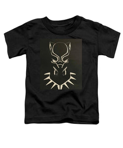 Black Panther Mask - Toddler T-Shirt - Njadaka