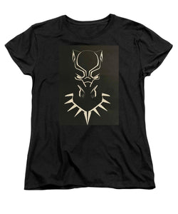 Black Panther Mask - Women's T-Shirt (Standard Fit) - Njadaka