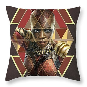 Dora Milaje - Throw Pillow - Njadaka