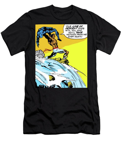 N'Jadaka Defeats T'Challa - Men's T-Shirt (Athletic Fit) - Njadaka