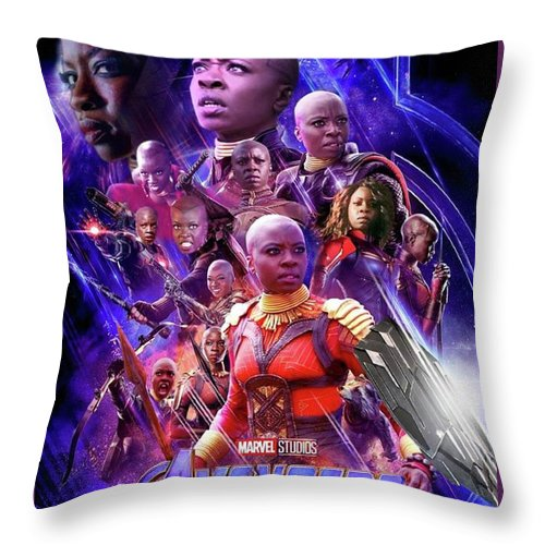 The Okoye Collection - Throw Pillow