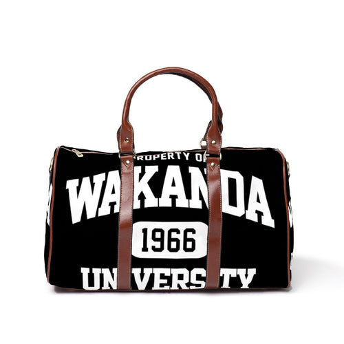 Wakanda University Travel Bag