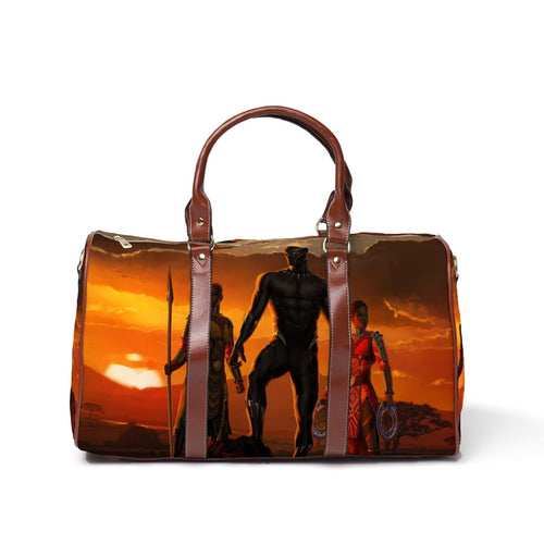 Black Panther Sunset Travel Bag - Njadaka
