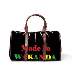 Made In Wakanda Travel Bag - Njadaka