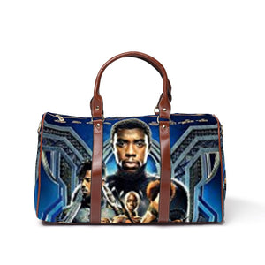 Black Panther Movie Poster Travel Bag - Njadaka