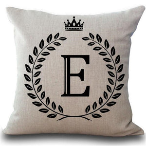 Letter Pillow Cover - Njadaka
