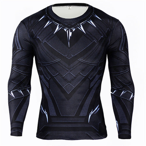 The Black Panther T-Shirt Men Athletic Fit - Njadaka