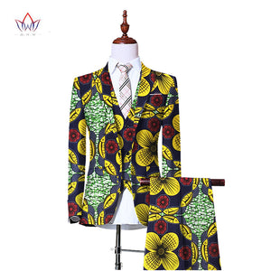 3 Piece Dashiki Pant Suit - Njadaka