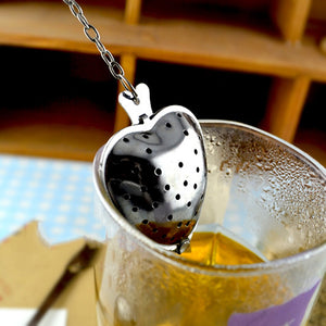 Heart-Shaped Herb Tea Ball - Njadaka