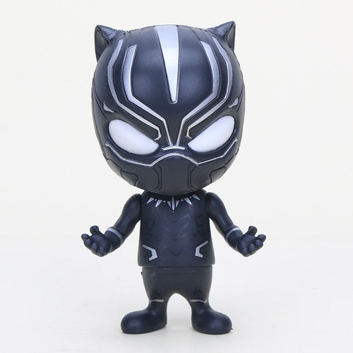 Black Panther Bobble Head Action Figure - Njadaka