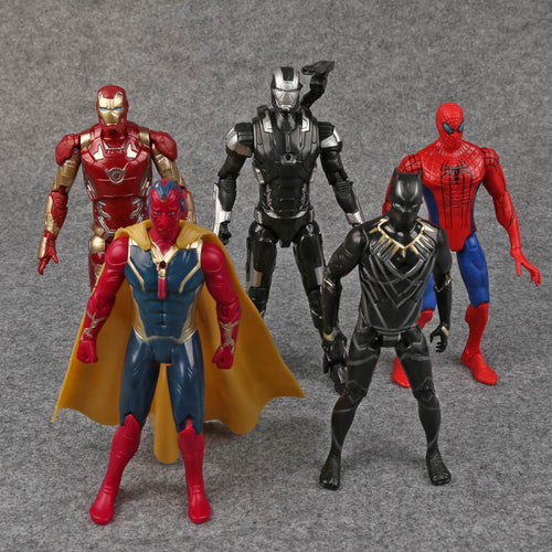 Black Panther Action Figures Toys 5pcs/set - Njadaka