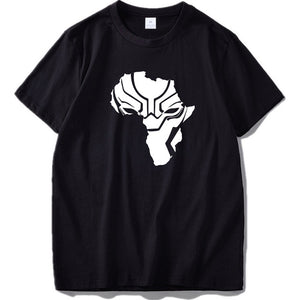 Black Panther Wakanda Africa Map T-Shirt V1 - Njadaka