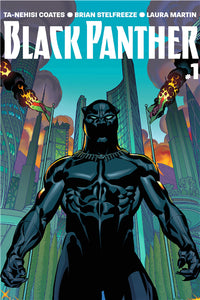 Black Panther Poster Marvel Comics - Njadaka