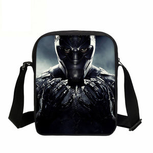 Black Panther  Crossbody Messenger Bags 8 - Njadaka