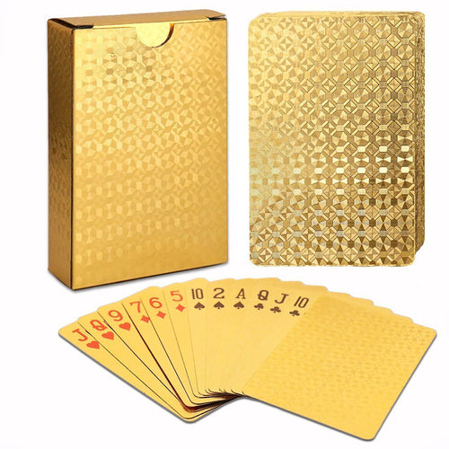 24K Gold Playing Cards Deck - Njadaka