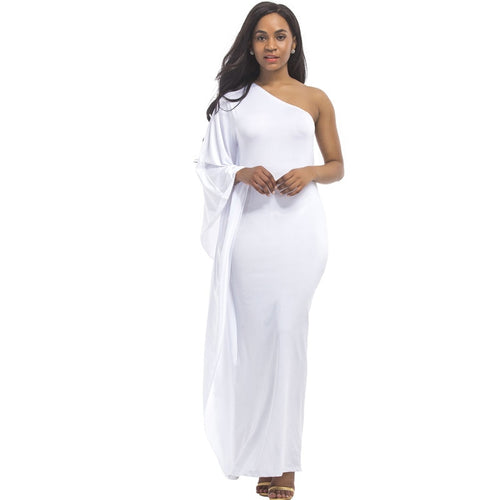 White Dress for Women - up 3XL - 5 Colors