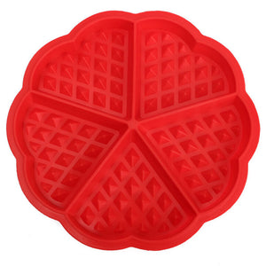 Heart Shaped Waffle Maker 2 Pack - Njadaka