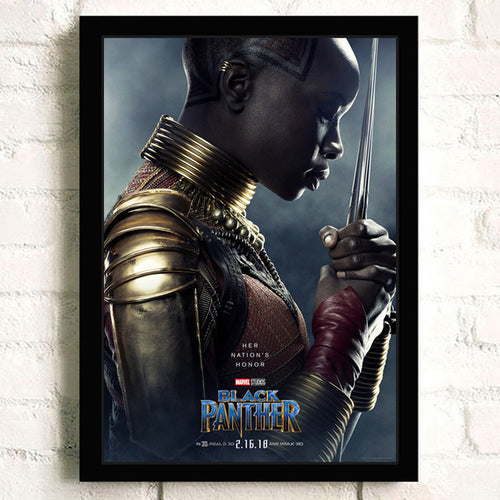 Musuem Gallery Quality Okoye Canvas Print
