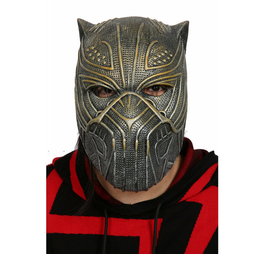 King N'Jadaka aka Killmonger Golden Jaguar Helmet - Njadaka