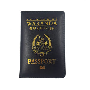 The Kingdom of Wakanda Passport Cover - Njadaka