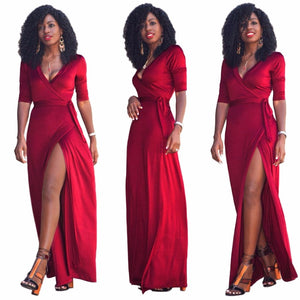 Okoye Style Red Casino Dress for Women - Njadaka