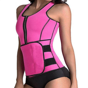 Sculpt Sweat Vest with Wrap - Women - Njadaka