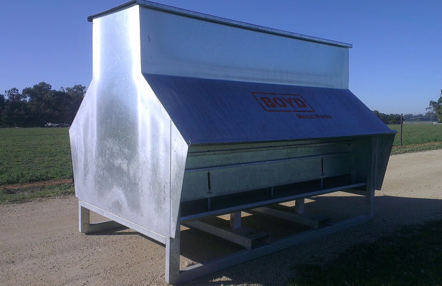 Chaff and Grain Feeder