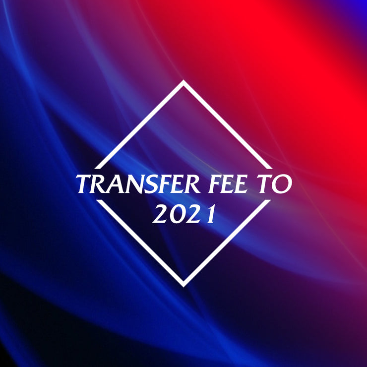 Transfer Fee to 2021 Online Competition