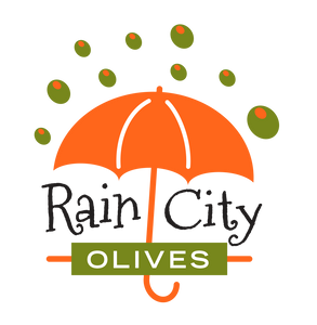 rain city olives logo