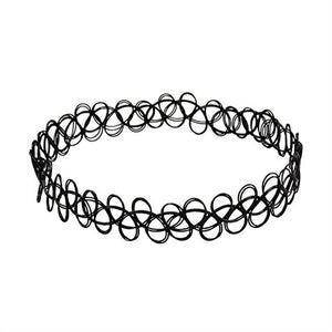 Gothic Stretch Choker Necklace