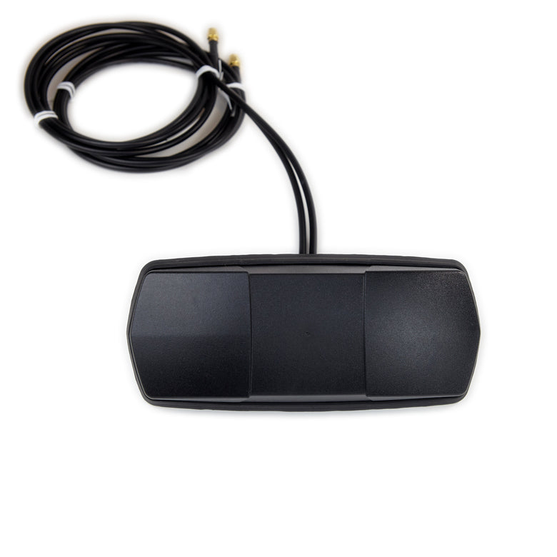 Dual 4G / MiMo LTE Direct Mount Cellular Antenna for Enclosure, ATM, Digital Signage with Dual 6 ft. Cables & SMA Connectors