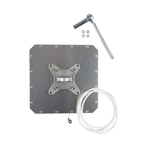 Heavy Duty Indoor Outdoor Mounting Bracket for Antenna, Computer Monitor or TV. 100mm VESA