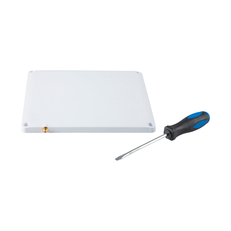 R9028-LPV-SSF: RFID Antenna for Impinj-Zebra-Alien-ThingMagic RFID Readers. Low Profile,10x10 Inch with 100mm VESA Mount