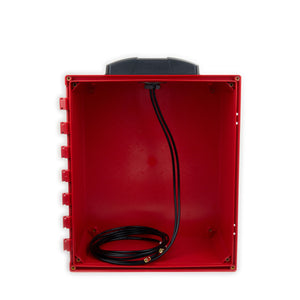 RBDM-44-SS-6: Dual 4G / MiMo LTE Direct Mount Cellular Antenna for Enclosure, ATM, Digital Signage with Dual 6 ft. Cables & SMA Connectors