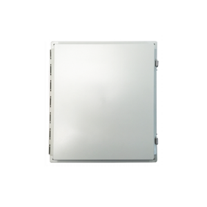 PCE20168-28W: 20x16x8 inch Prewired Weatherproof Enclosure for Zebra FX9500 & FX9600 8 Port RFID Readers