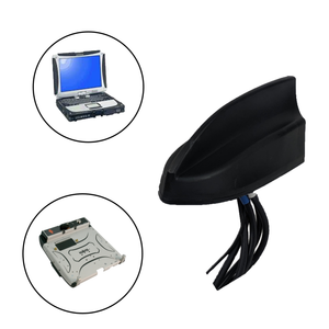 Thin Sharkfin Antenna for Panasonic Toughbook/Toughpad Mobile Docking Computers/Tablets and Gamber Johnson/Havis Docking Stations
