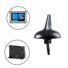 Sharkfin Antenna for Panasonic Toughbook/Toughpad Mobile Docking Computers/Tablets and Gamber Johnson/Havis Docking Stations